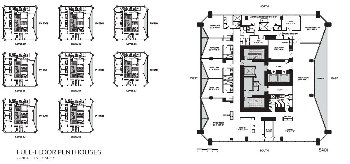 1000 museum miami for 1000 museum miami floor plans
