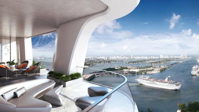 1000 Museum luxury condos in Miami