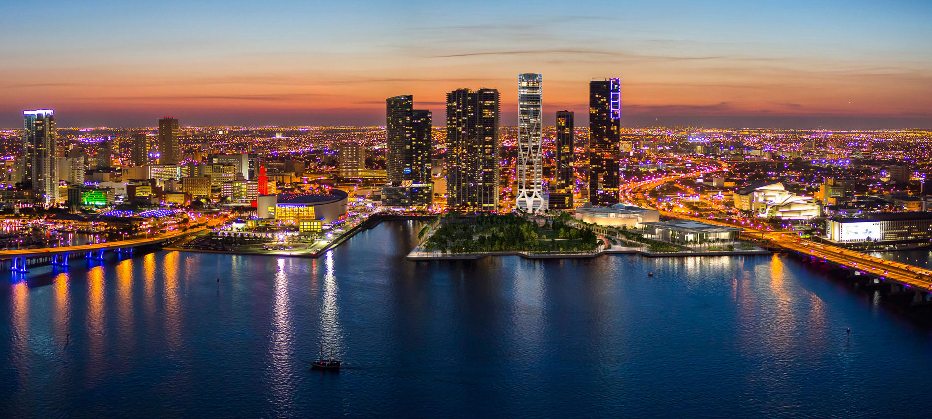 1000 Museum Skyline on New Construction Homes Miami