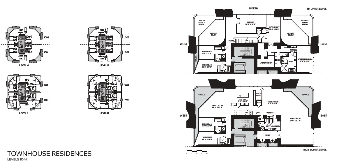1000 museum miaminew build homes for 1000 museum miami floor plans