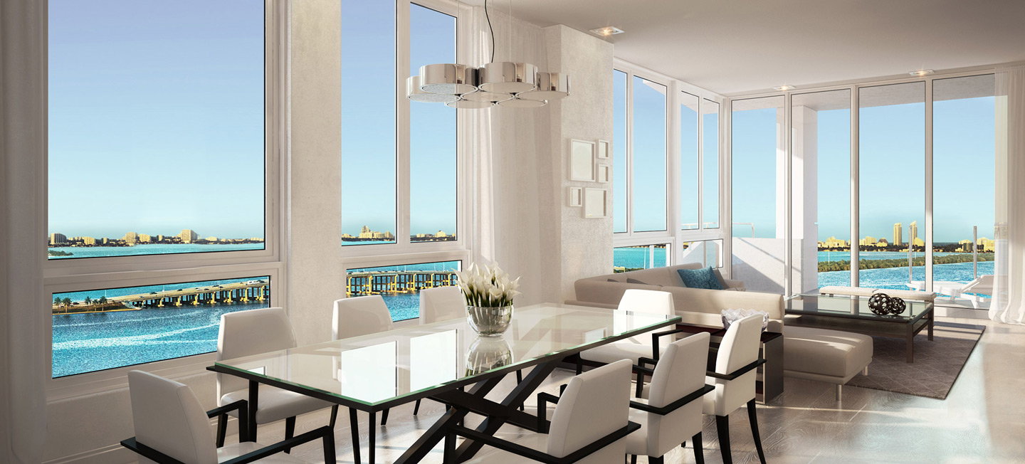 The Crimson Miami. Waterfont Condos For Sale On Biscayne Bay