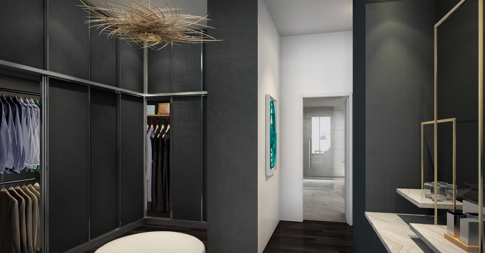 Echo Aventura Luxury Condos Closet New Build Homesnew