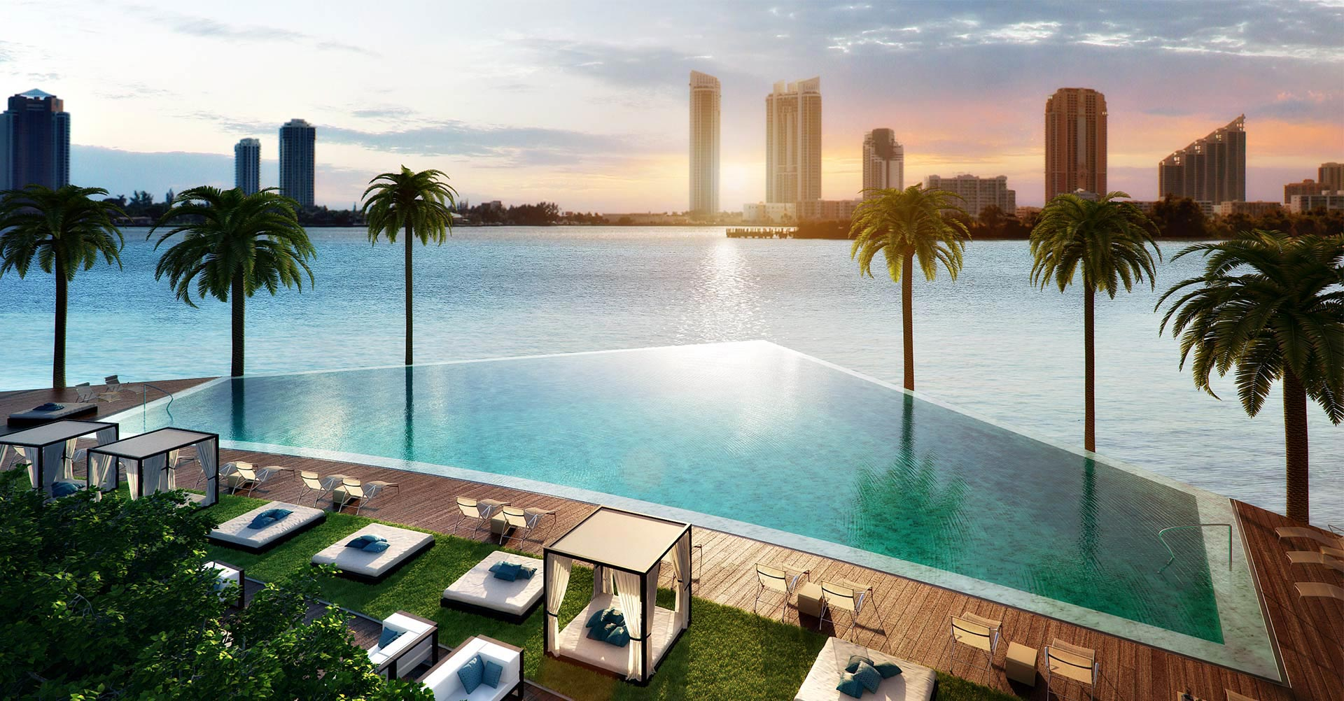 Echo Aventura in Miami. New pre-construction waterfront ...