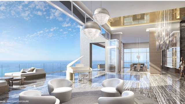 Mansions at Acqualina ultra-luxury oceanfront condos n Sunny Isles Beach