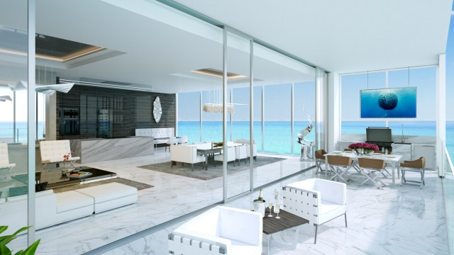 Muse Condos Sunny Isles Beach luxury beachfront condos for sale in pre-construction