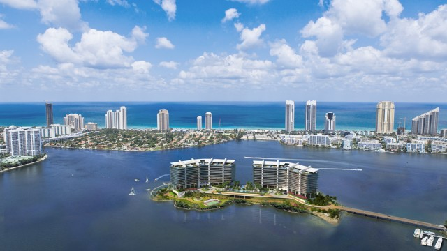 Privé at Island Estates. Pre-construction luxury condos on a private island in Miami