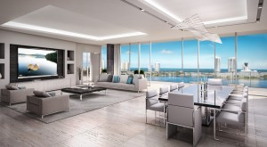 Privé na Ilha Estates condomínios à beira-mar ultra-luxo Miami