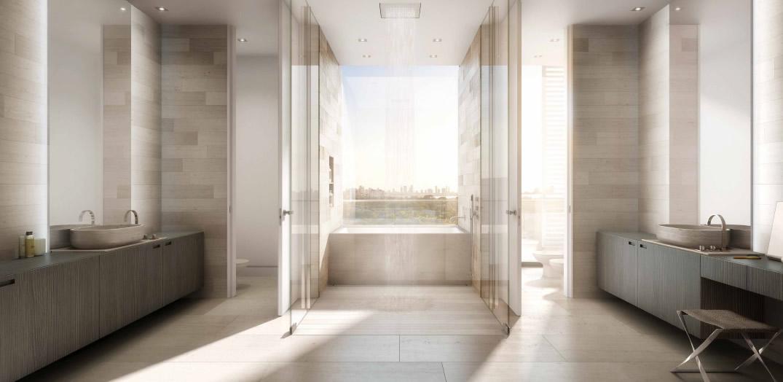 Ritz Carlton Luxury Condos Miami Beach Bathroom New