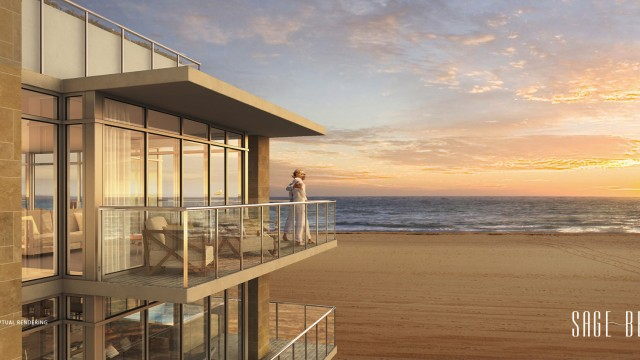 Sage Beach Hollywood Beach. New pre-construction beachfront condos in Miami