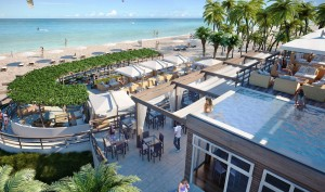 Beachwalk Condos in Hallandale Beach, Beach Club
