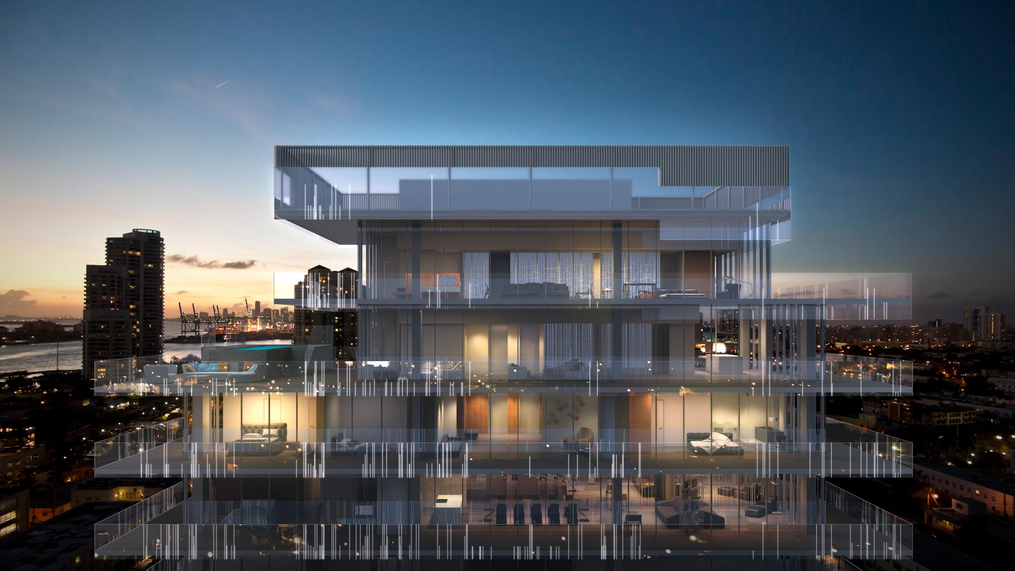 Glass miami beach ultra luxury beachfront condos on miami beach for sale