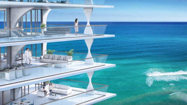 Pre-construction oceanfront condos for sale in Sunny Isles at Jade Signature