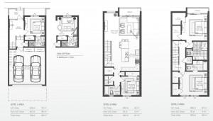 93 Bay Harbor townhomes - model B2