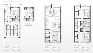 93 Bay Harbor townhomes - model A