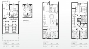 93 Bay Harbor townhomes - model C