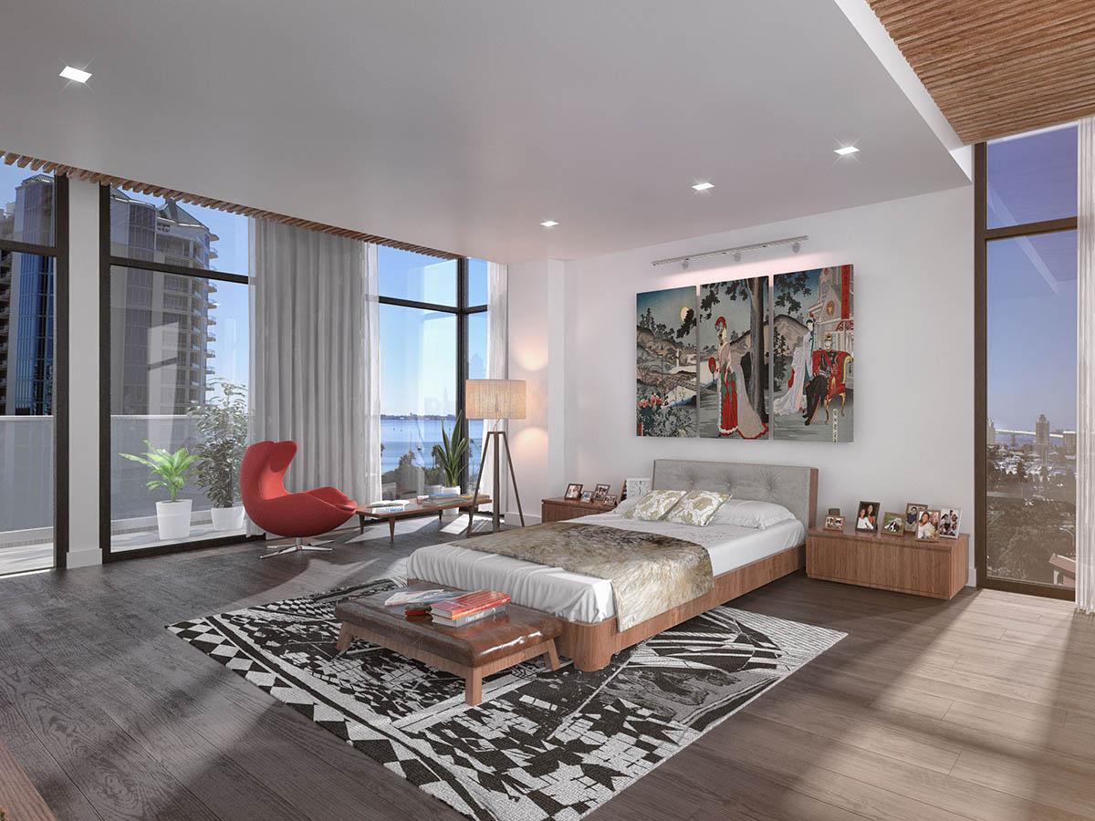 Sansara-condos-in-Sarasota-master-bedroom