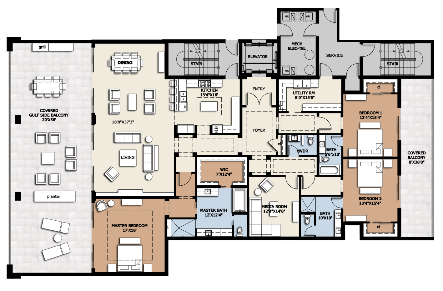 Four Bedroom Floor Plans infinity longboat key is a new luxury condo development