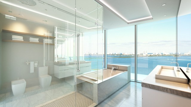 Aria on the Bay. New luxury condos in Miami
