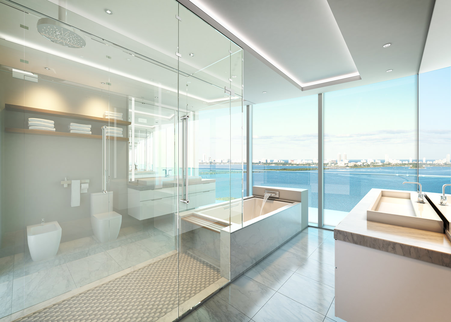 Aria On The Bay Bathroom New Build Homes