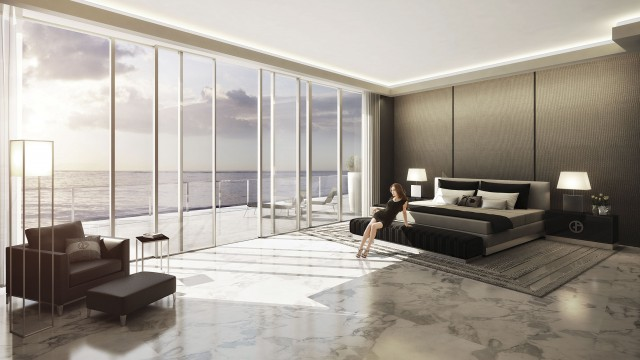 Armani Residences New Luxury Preconstruction Condos In MiamiNew - Armani bedroom design