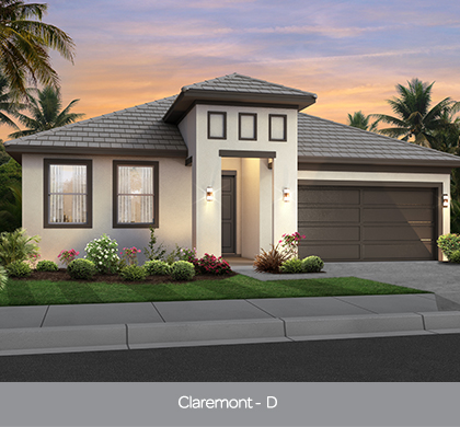 Claremont model home