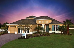 modelo de Springfield no Country Club East em Lakewood Ranch