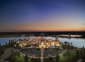 The Lake Club at Lakewood Ranch lakeside homes