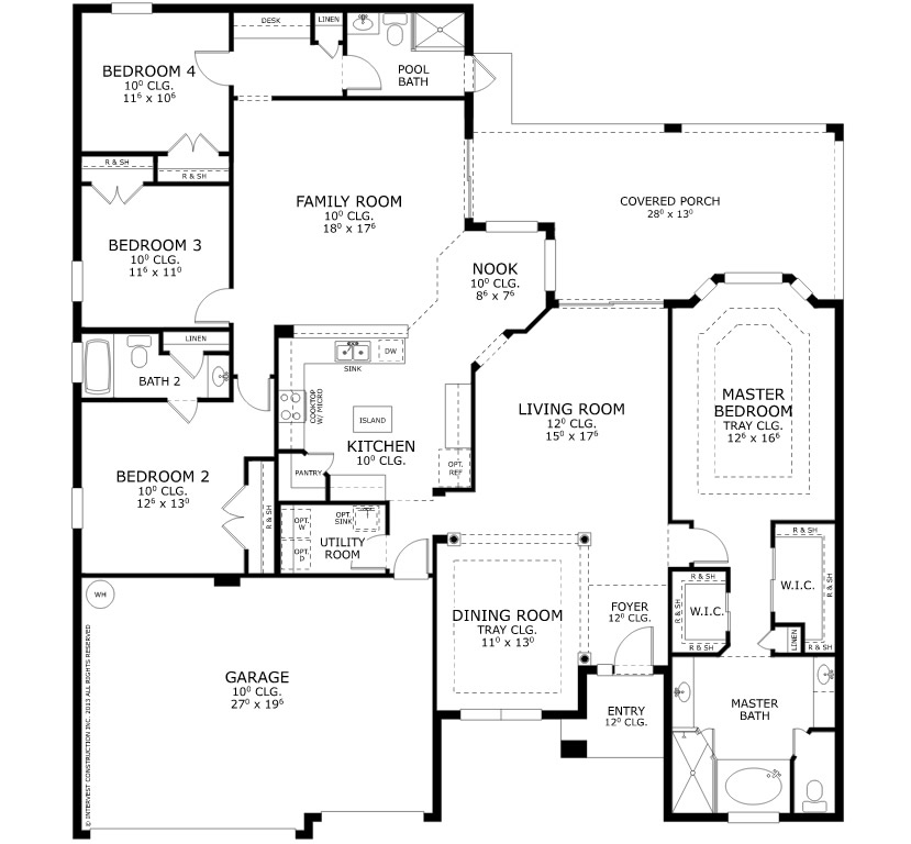 Live oak estates for Ici floor plans