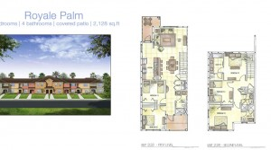 The Royale Palm model vacation homes at Storey Lake near Disney