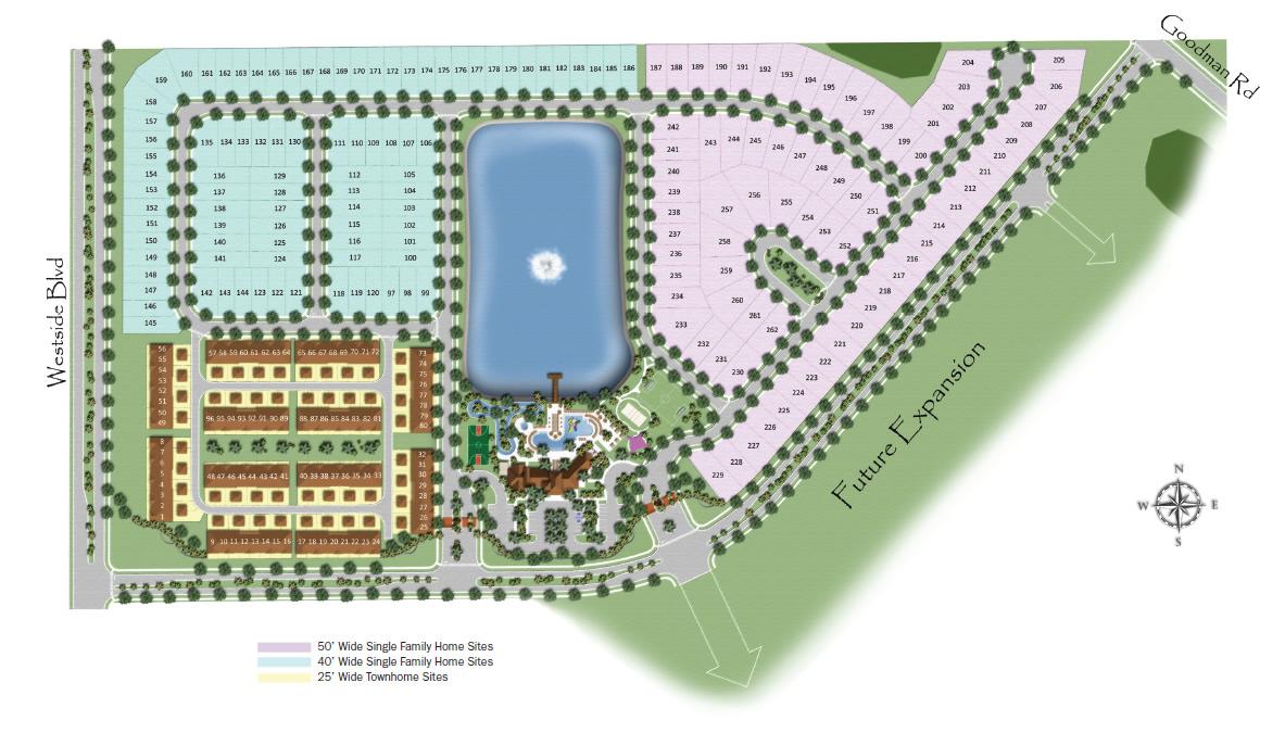 Windsor At Westside Site Plan New Build Homesnew Build Homes
