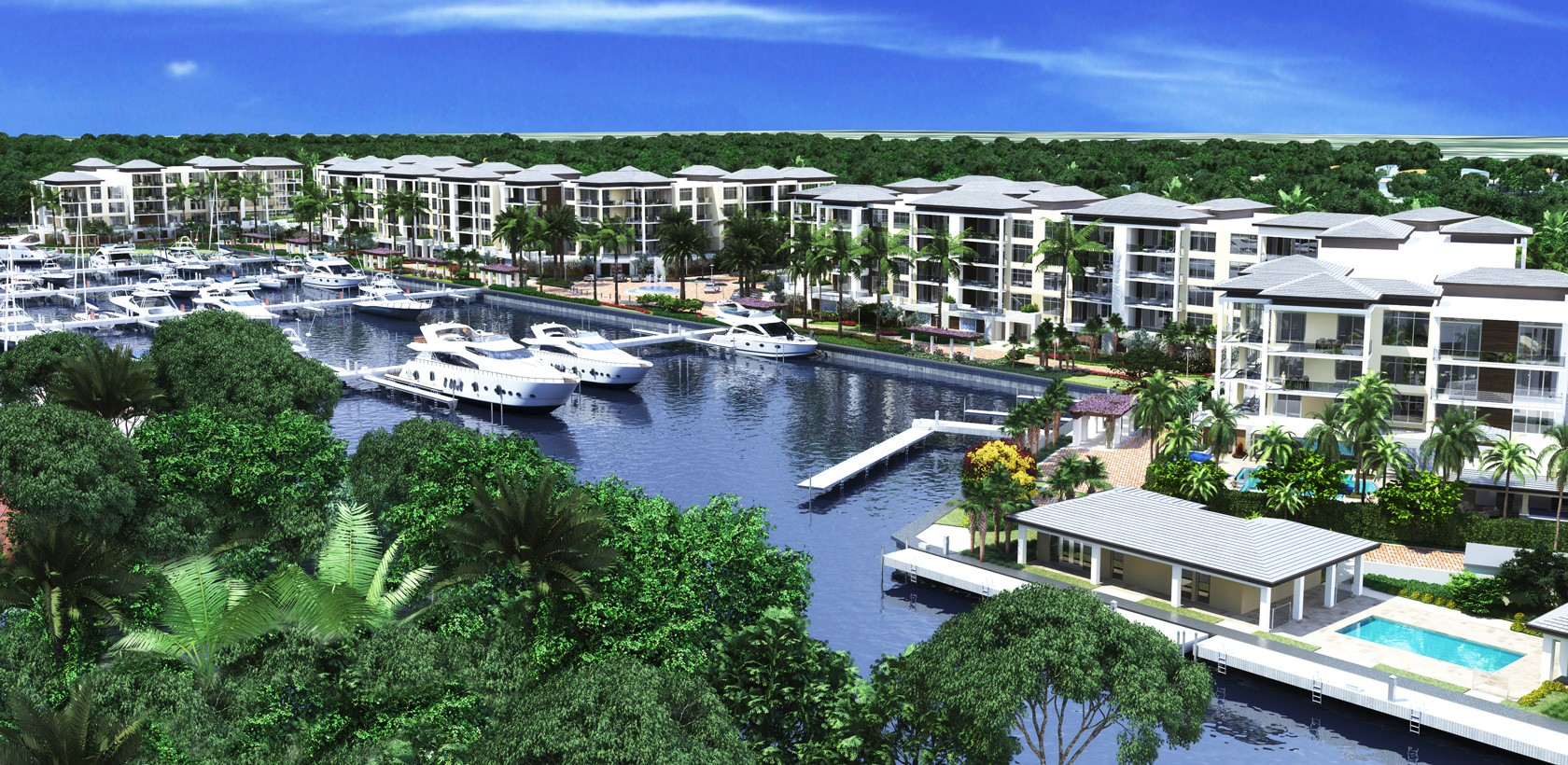 Azure Palm Beach Gardens. New waterfront luxury condos for saleNew ...