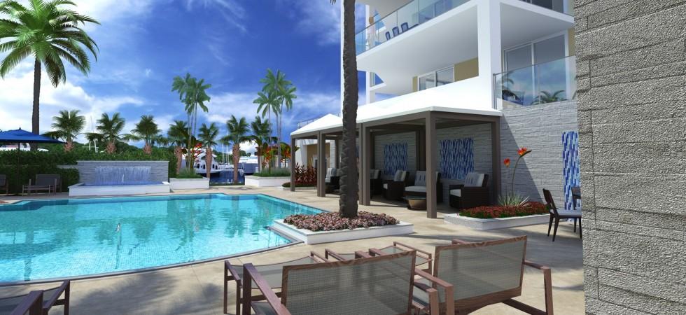 Azure luxury condos west palm beach swimming pool new - Palm beach swimming pool ...