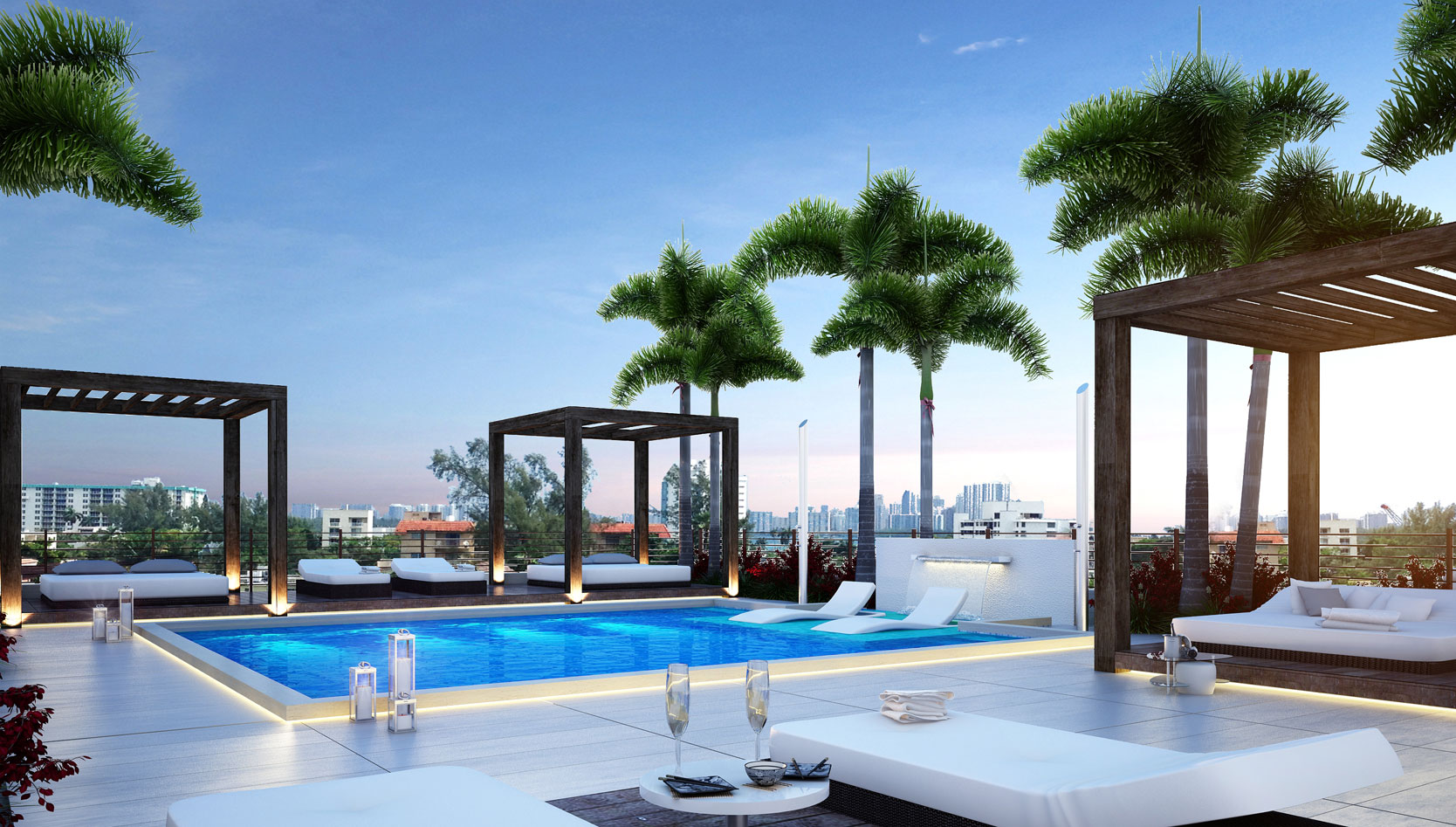 Bay Breeze Residences Pool Deck New Build Homes