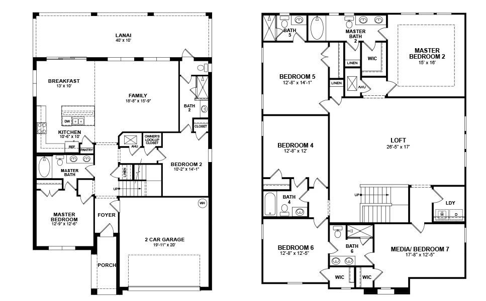 Beazer Homes Floor Plans Thefloors Co