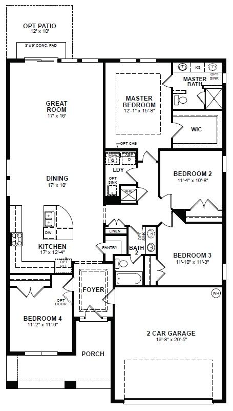 Beazer Homes Floor Plans