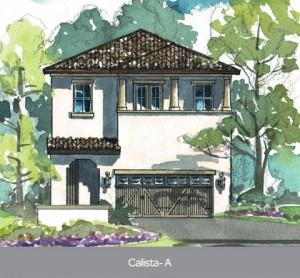 Calista model at Residences at Dellagio