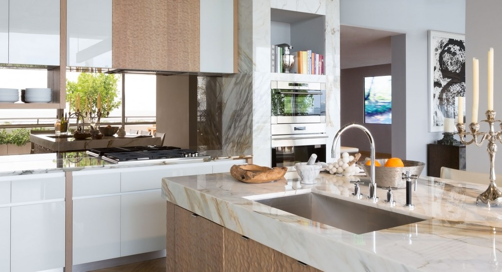 Park Grove at Coconut Grove luxury condo kitchens