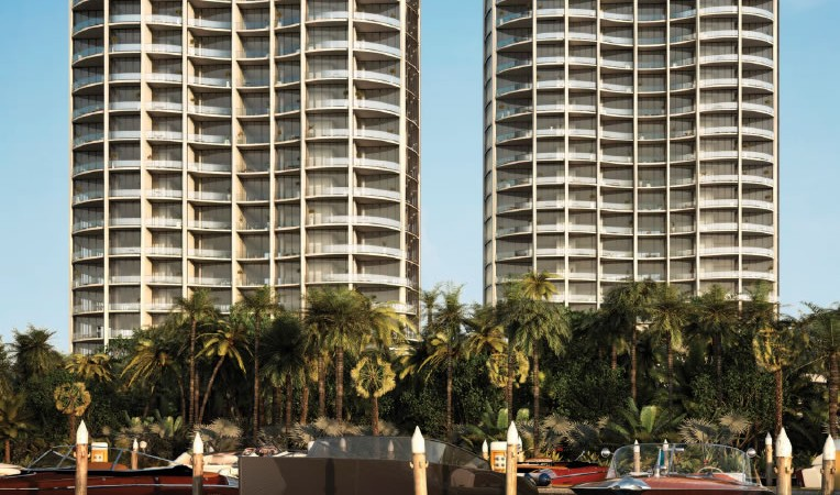 Park Grove at Coconut Grove luxury condo towers