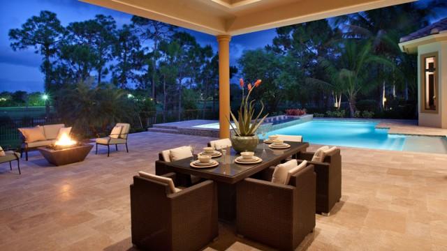Baywoods at Bonita Bay is an exclusive development of luxury lake homes in Bonita Springs