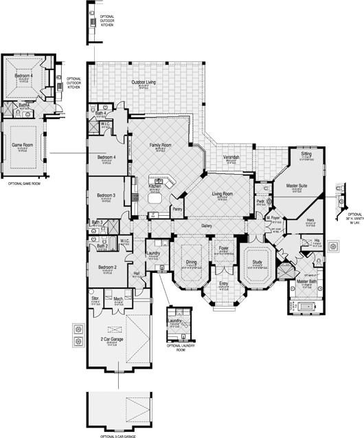 Plan De Maison De Luxe : De Maison De Luxe Moderne Plan De Maison De ...