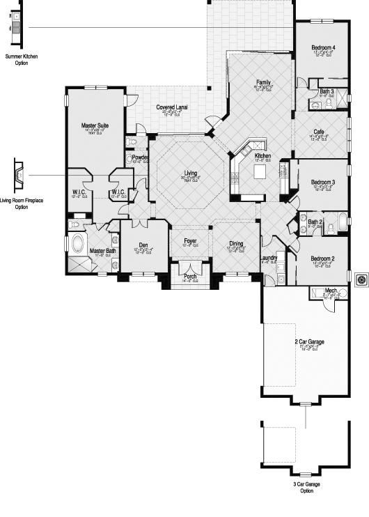 Photos plan de maison de luxe etage page 8