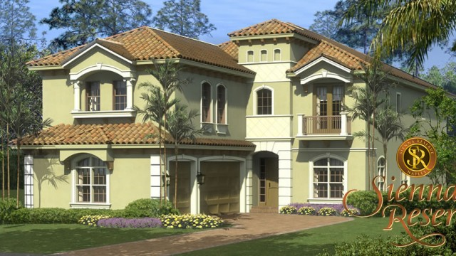 Sienna Reserve in Naples. New construction homes surrounded by natural preserves