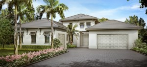 Anastasia model at Hidden Harbor. New waterfront homes in southwest Florida
