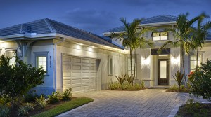 Biscayne model at Hidden Harbor. New waterfront homes in southwest Florida