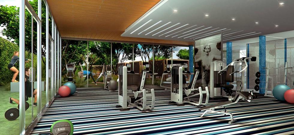 Ion Miami Condos Fitness Center New Build Homesnew Build