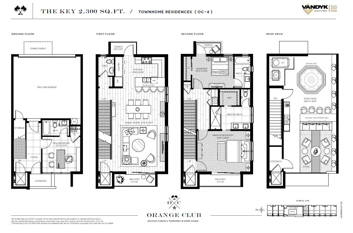 Villa grundriss 2 stöckig  Das Orange-Club Sarasota ist ein neues Projekt in der Innenstadt ...