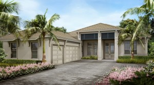 Largo model at Hidden Harbor. New waterfront homes in southwest Florida