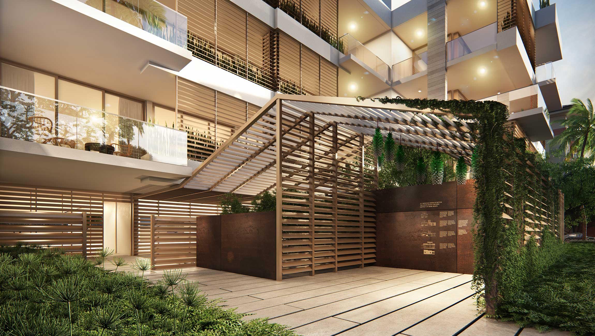 百叶窗House_entry