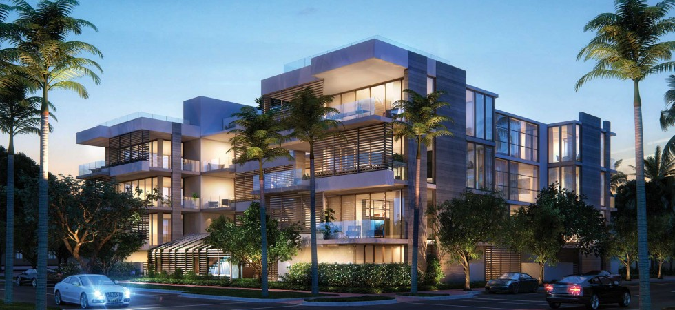 Louver House luxury condos in the South of Fifth area of South Beach