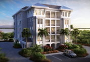 Mariner Penthouse model at Harbour Isle on Anna Maria Sound